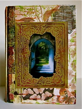 Doors altered book, front cover